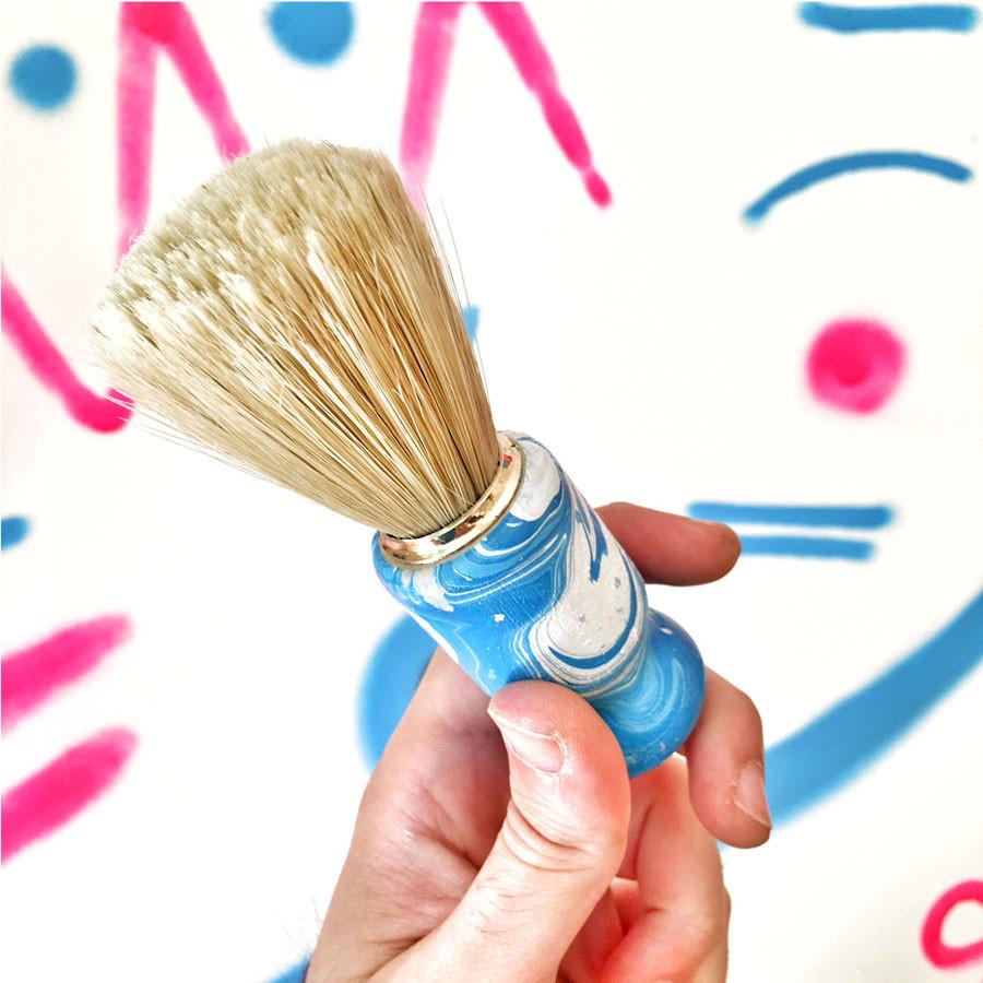 özel üretim tıraş fırçası