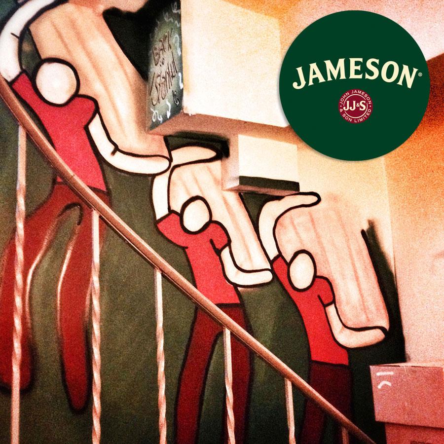 Jameson - Bitti Gitti tasarım
