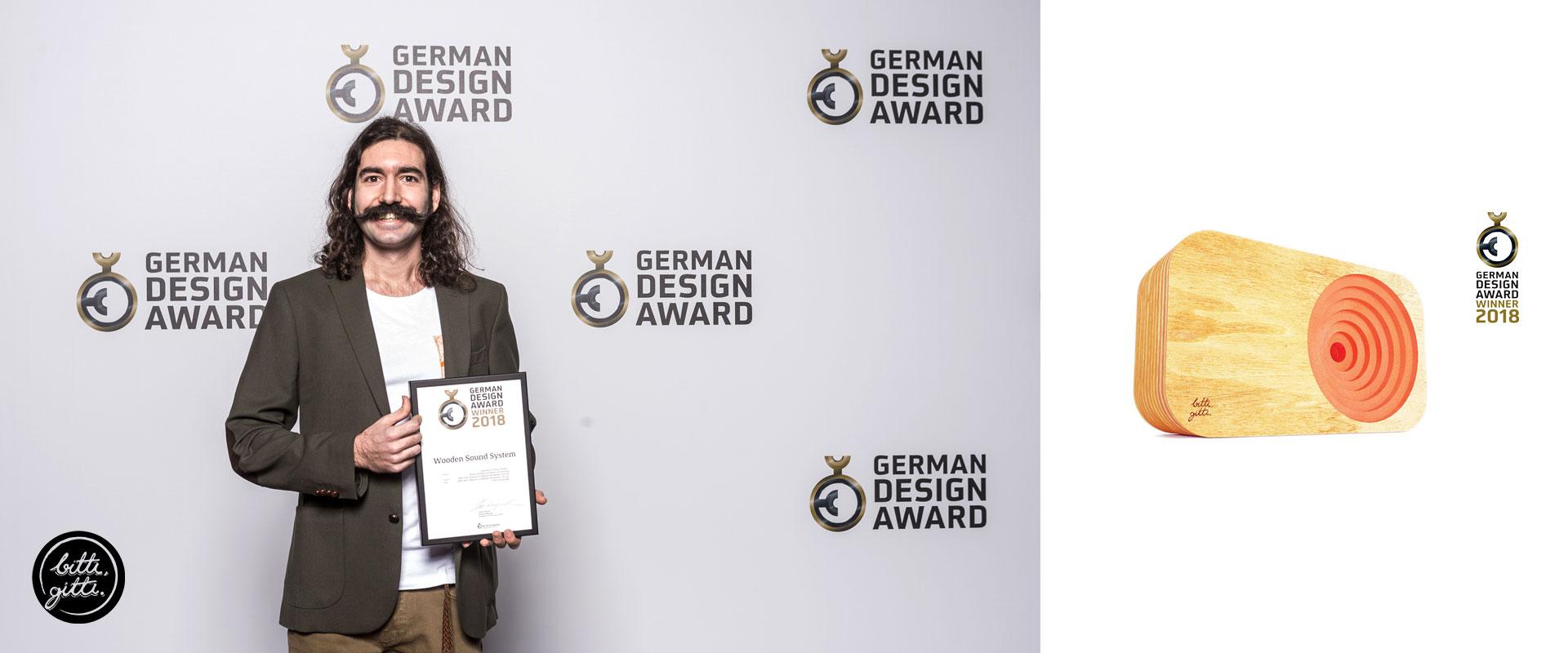 German Design Award 2018 Winner - Erbil Sivaslioglu - Bitti Gitti