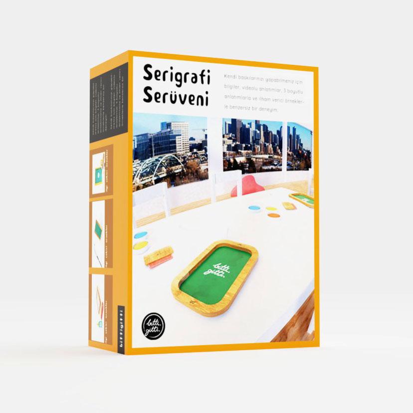 serigrafi eğitim paketi