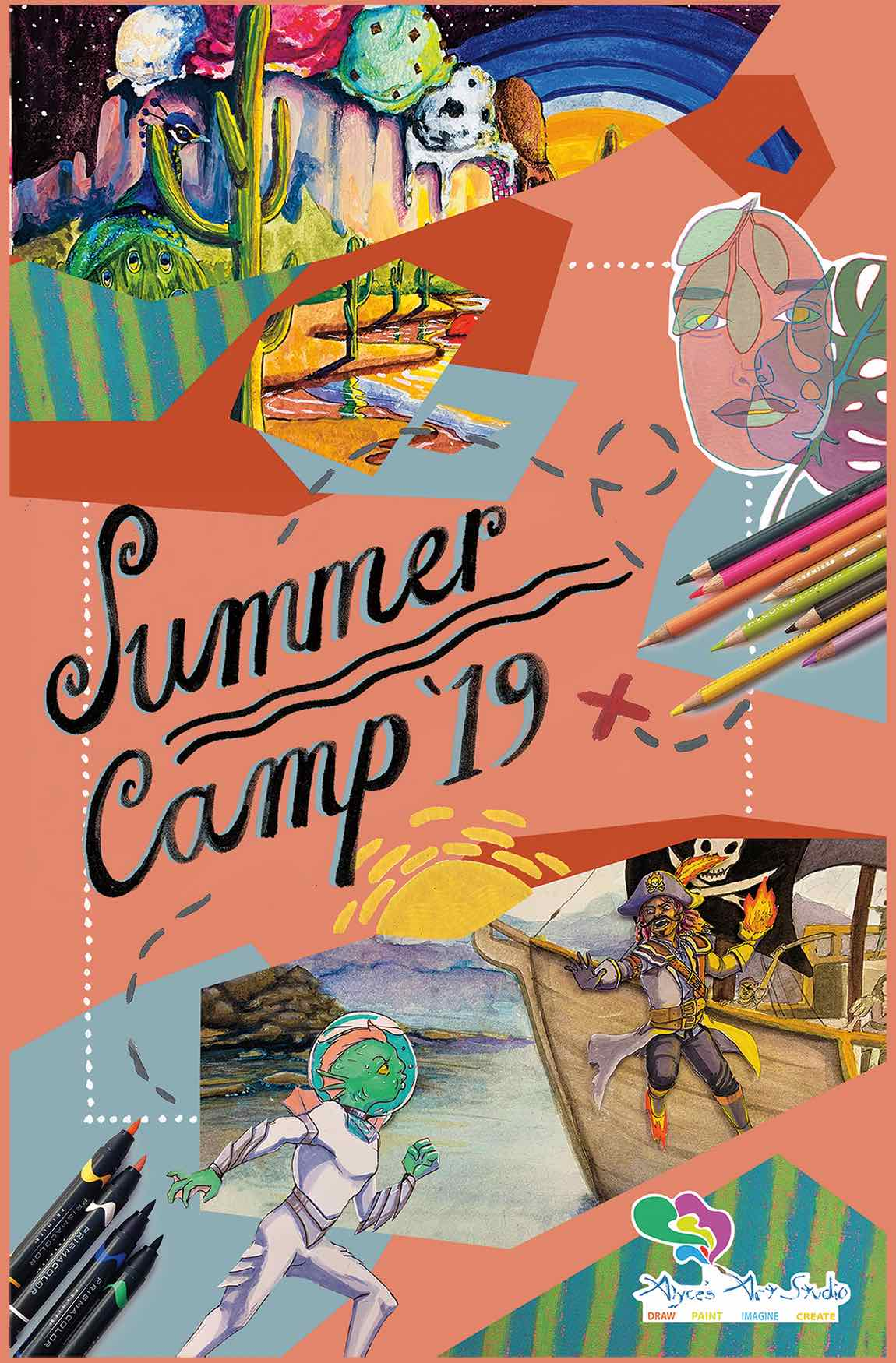Summer Camp Title Page