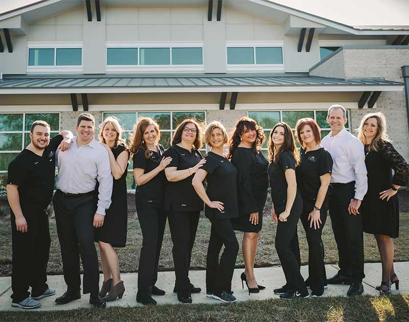 The Carnes Crossroads Dental Team