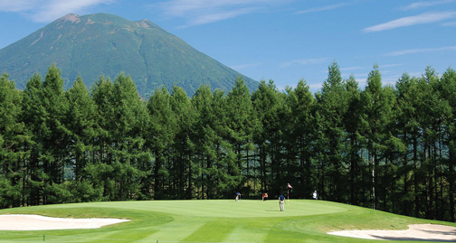 golf course under yotei