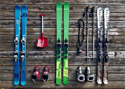 Ski or Snowboard Equipment Rental