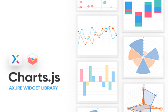Charts.js Axure Widget Library Preview Image
