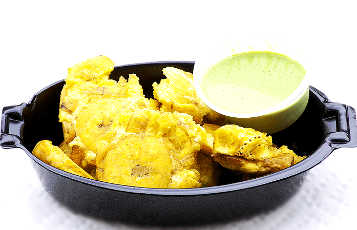 Chicken's Road Green Plantains (Tostones)