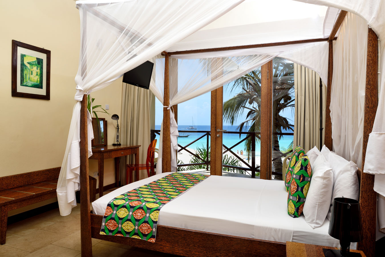 rooms at the Z hotel zanzibar
