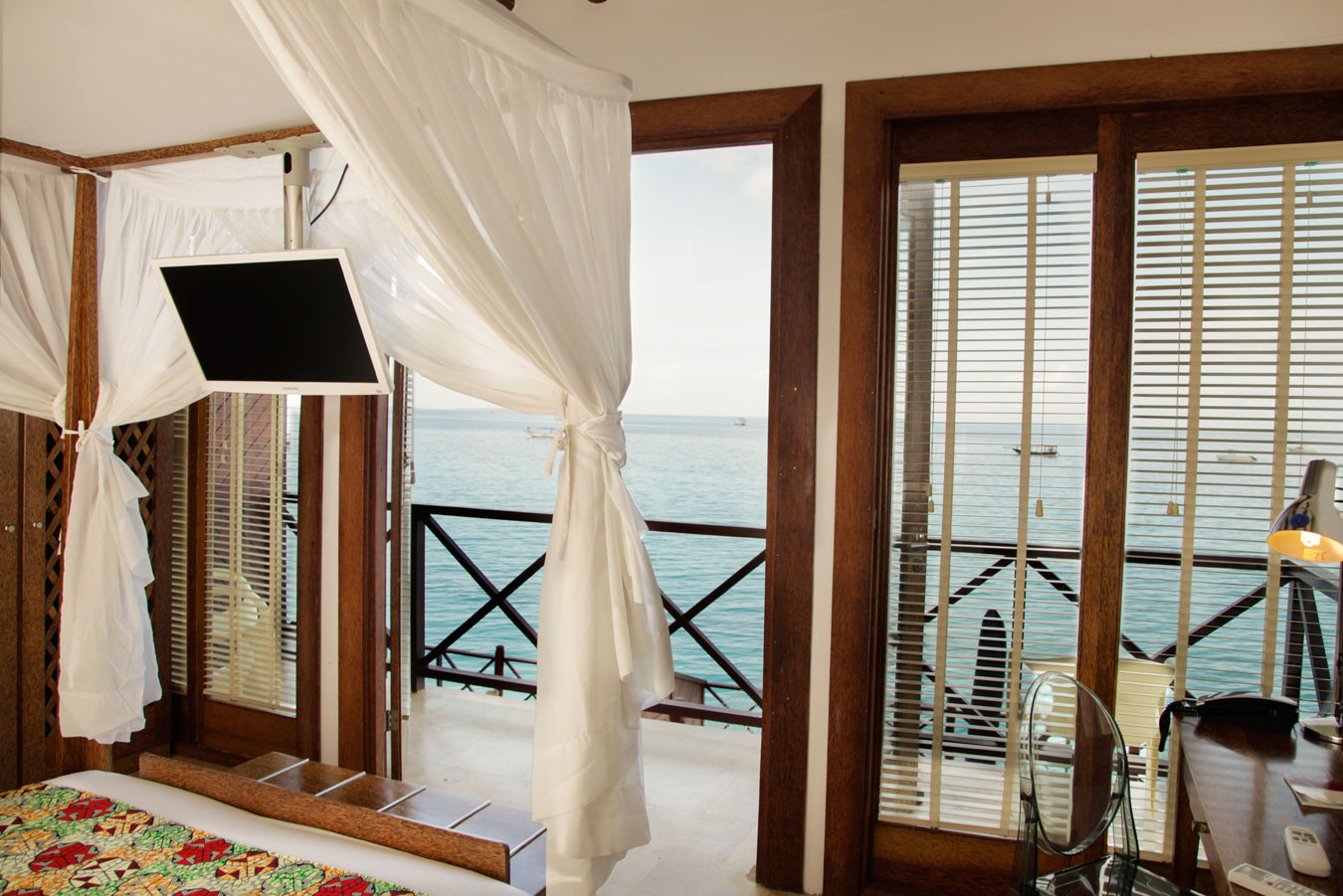 ocean front cottages at the Z hotel zanzibar