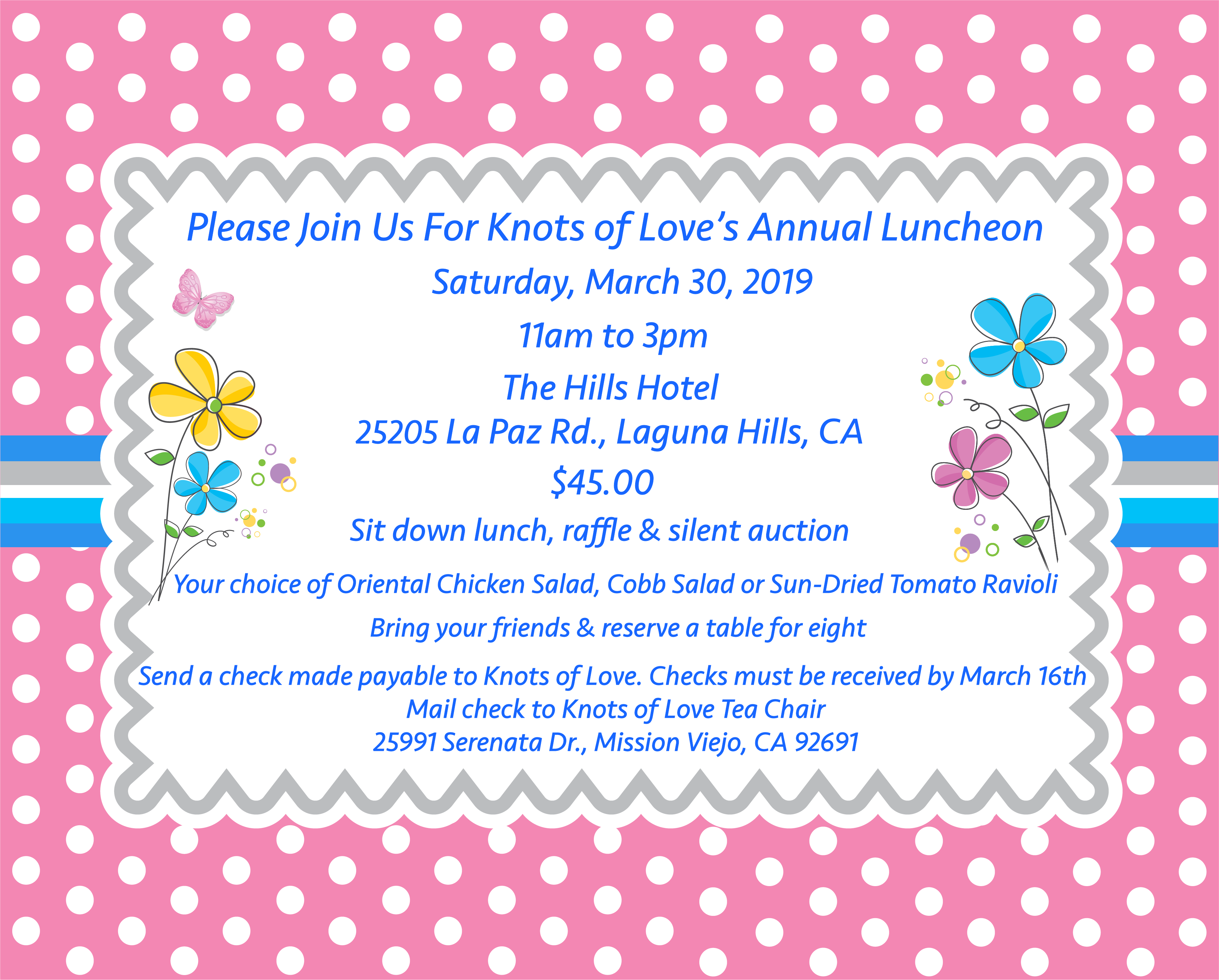 Knots of Love Annual Luncheon