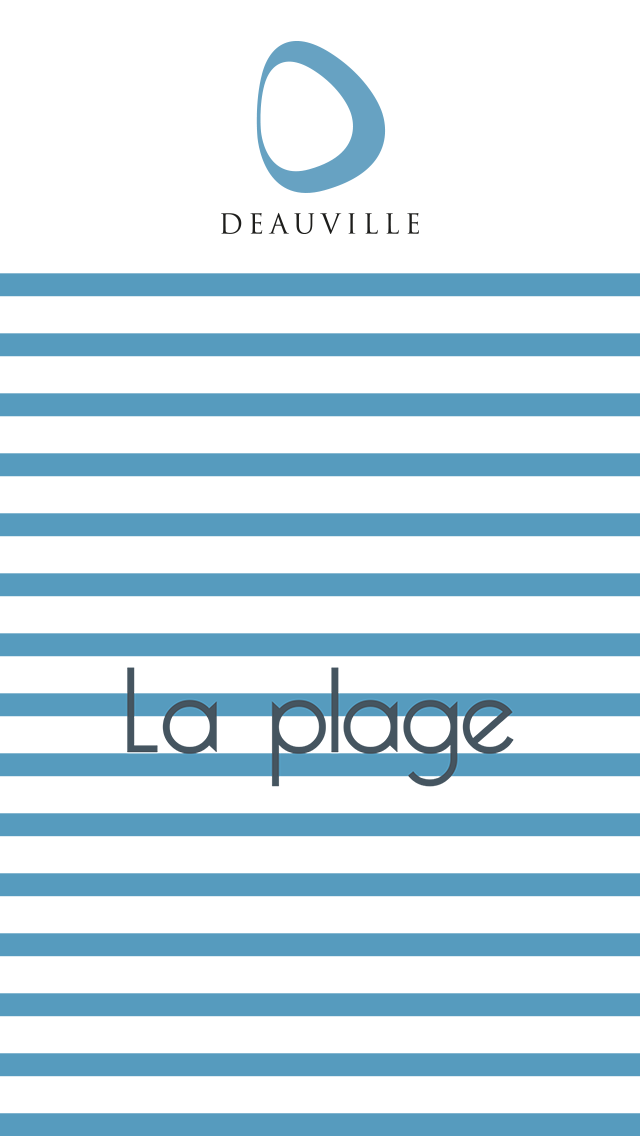 "A preview of the app ""La plage de Deauville"""