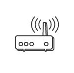 """Le smArtAccess est une borne Wi-Fi qui permet de télécharger votre application """"guide de visite"""" exclusivement, de manière ultra rapide et sécurisée."""