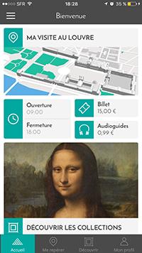 Ejemplo de aplicacion que hicimos para el Louvre