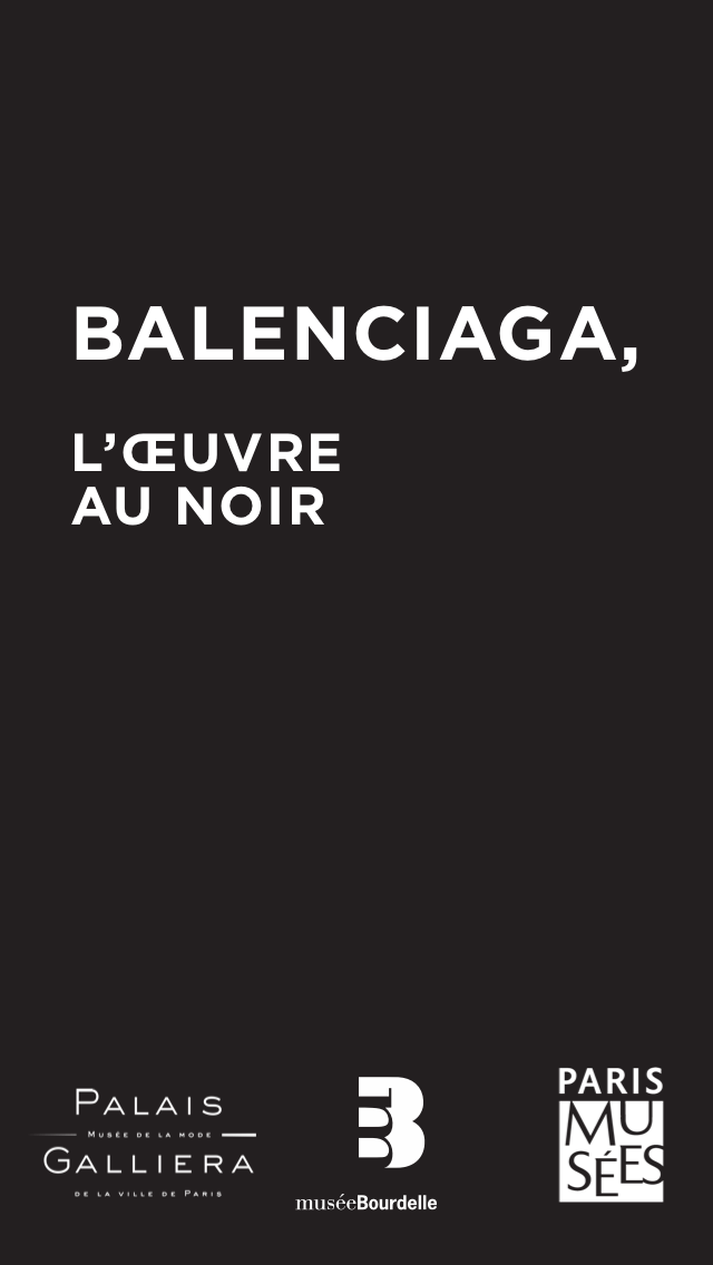 "A preview of the ""tour guide"" app smArtapps created for one of the Paris Musées exhibitions: Balenciaga"