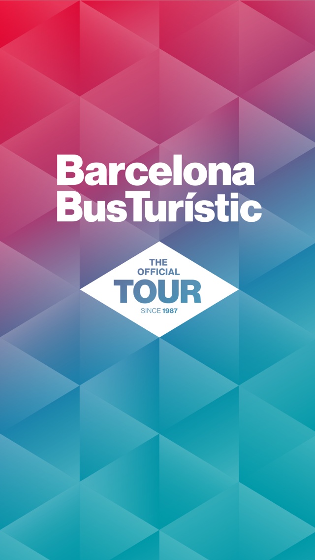"A preview of the ""Barcelona Bus Turistic"" tour guide app"