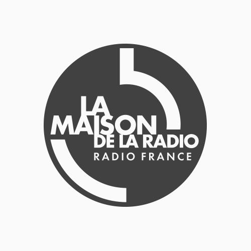Logo de La Maison de la radio por Radio France