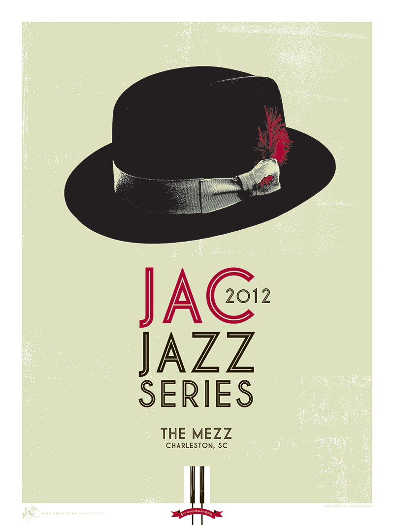 Commemorative poster for JAC Jazz Series 2012.