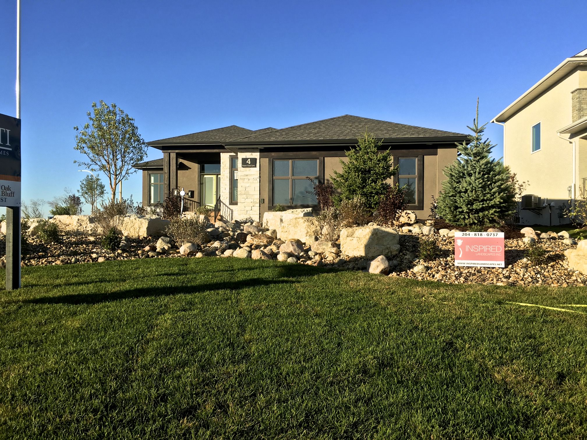 Parade of homes Winnipeg landscaping