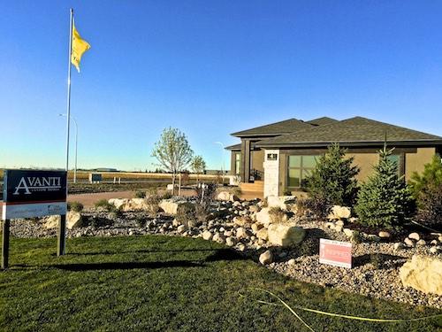 Parade of homes Winnipeg landscaping
