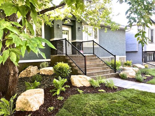 Front yard landscaping winnipeg