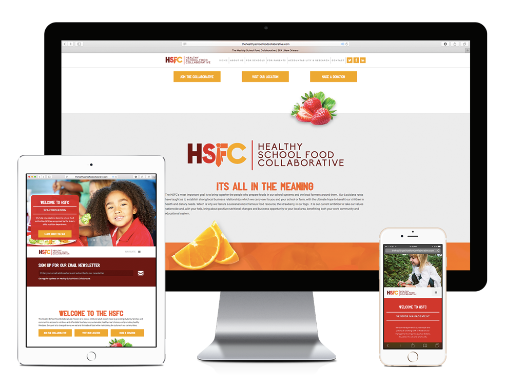 Responsive Website Design for THSFC