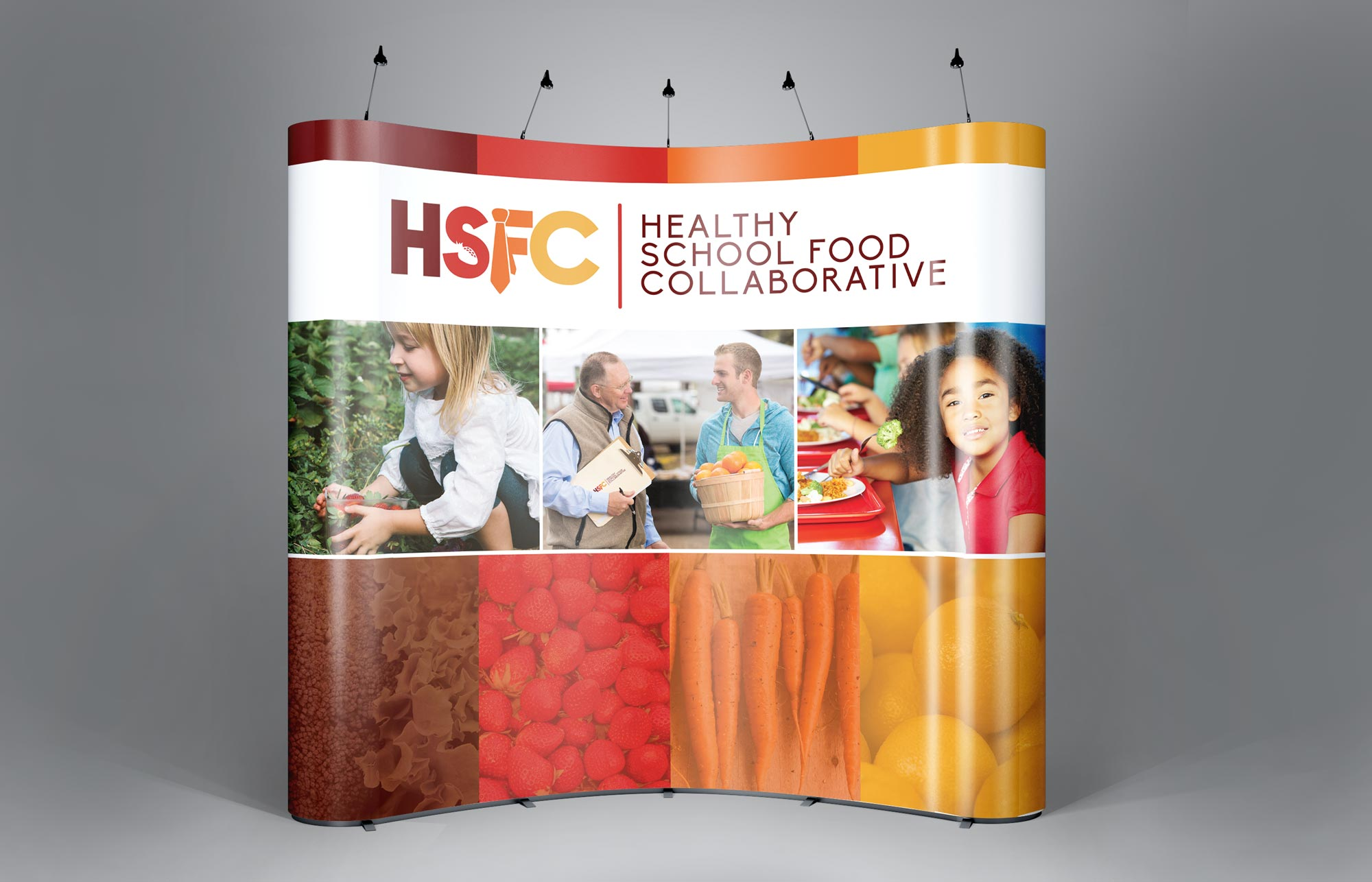 Trade Show Booth Design for THSFC