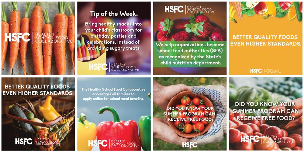 Social Media Marketing Post Design for THSFC