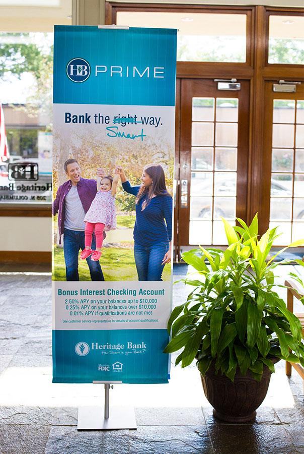 Heritage Bank Banner