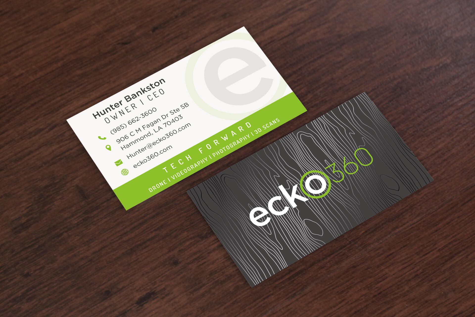 Ecko360 anntoine marketing design hammond la ecko360 business cards reheart Gallery