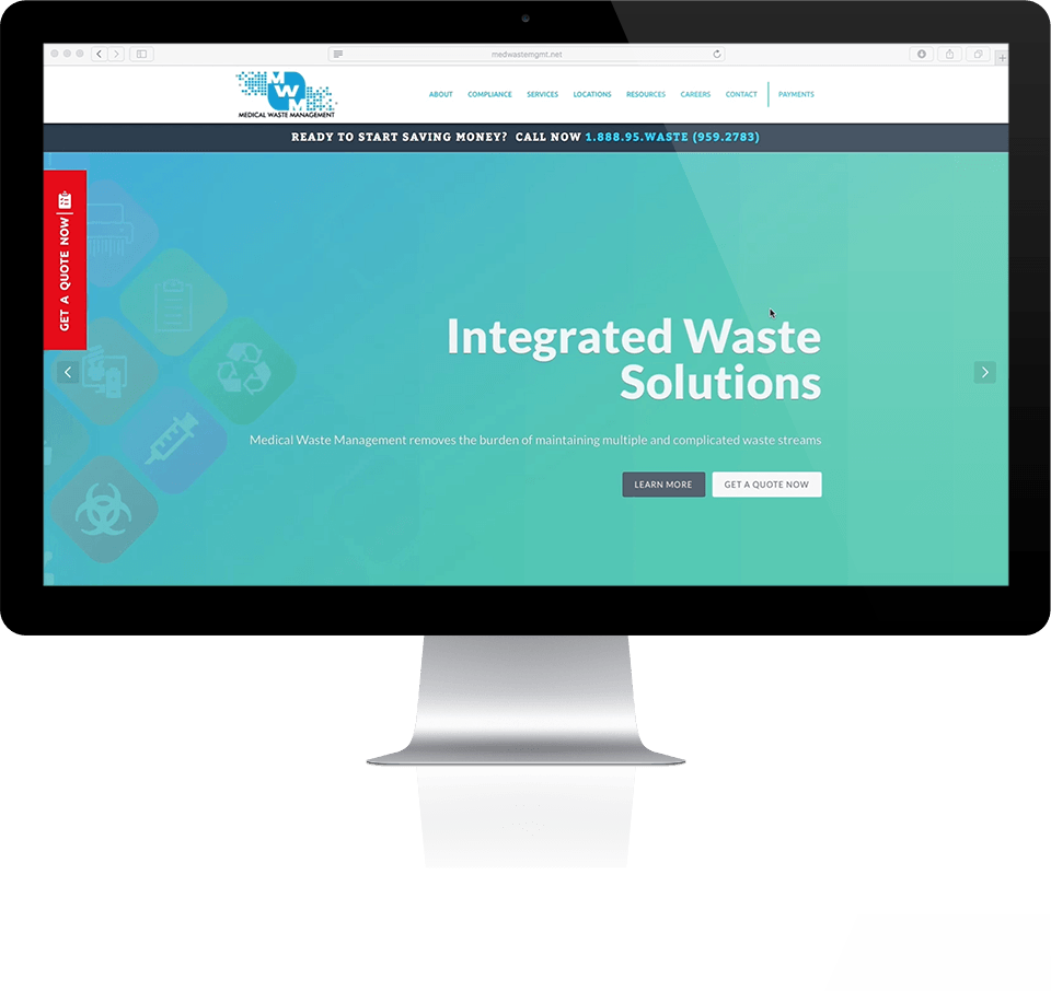 Medical Waste Management Website