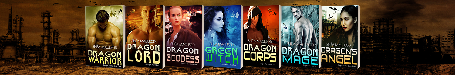 Dragon Wars Series | Shéa MacLeod