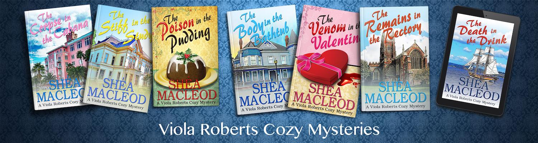Viola Roberts Cozy Mysteries | Shéa MacLeod
