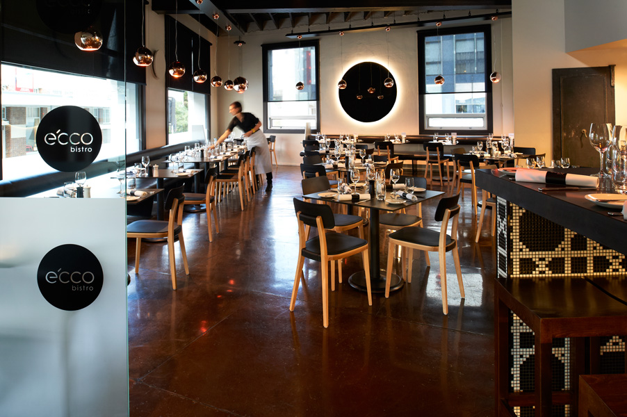 Ecco Bistro by Darra Joinery. Custom Commercial Joinery Brisbane.