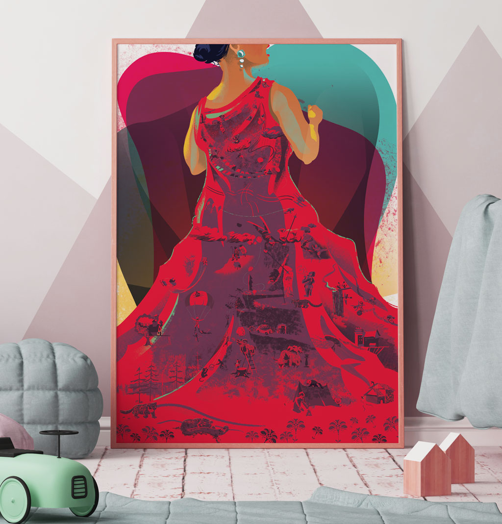 poster print to get kids talking, classical opera