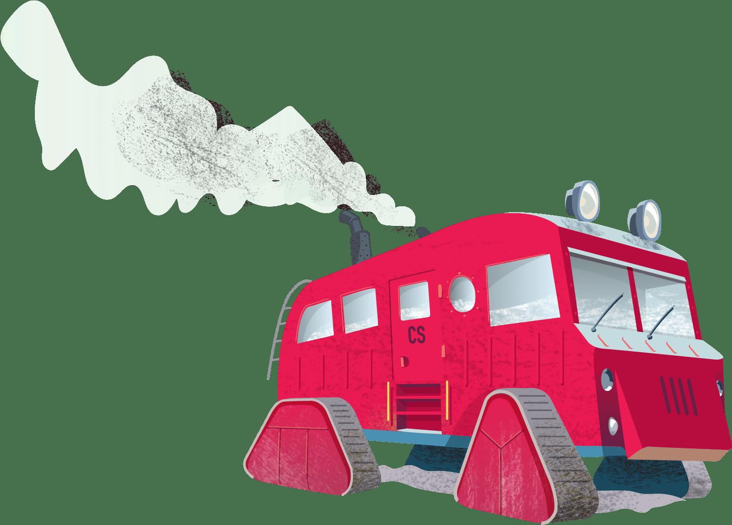 a polar exploration vehicle