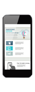 responsive web phone