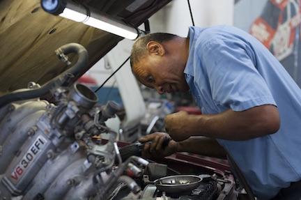 car maintenance by certified mechanic