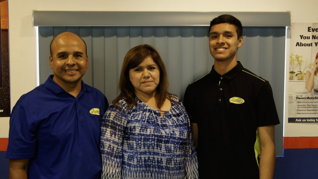 family owners of alonso auto repair
