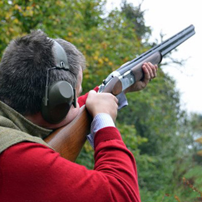 Hillside Archery - Clay shooting image