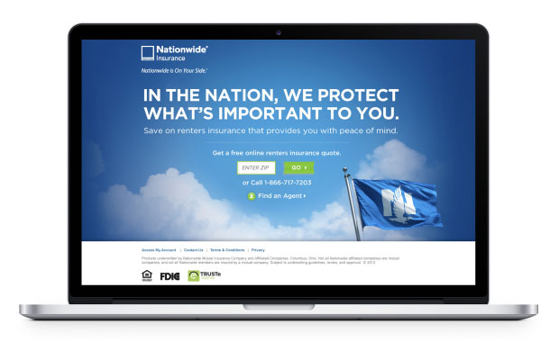 Join the Nation landing page