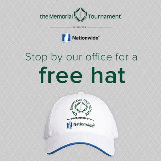 Memorial hat giveaway social card