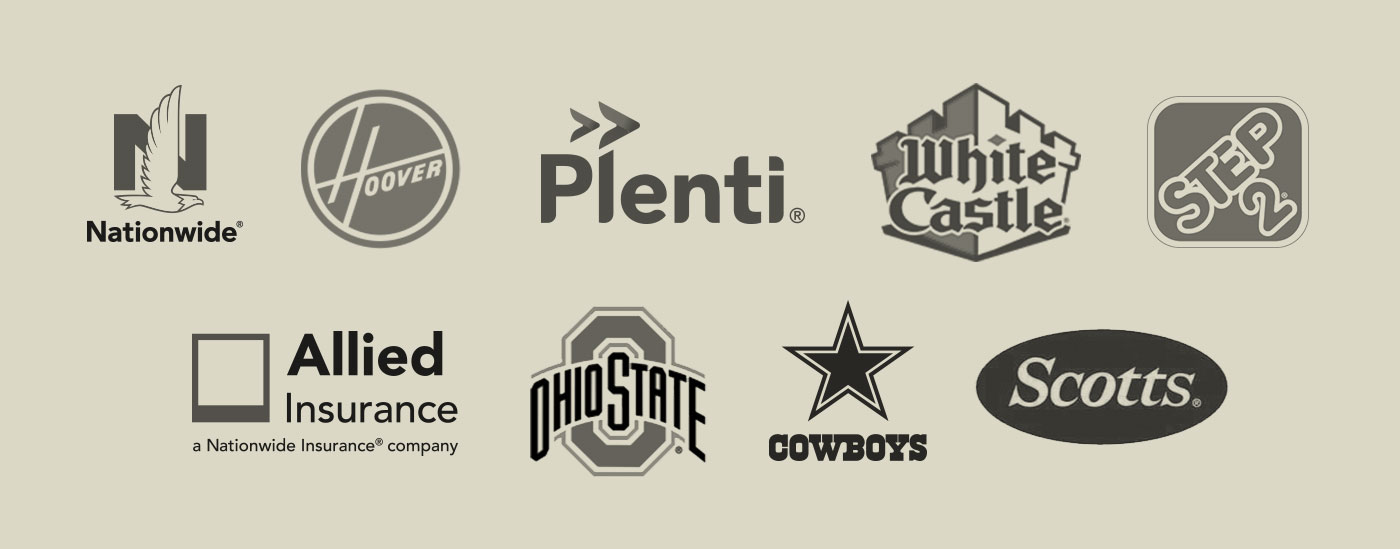 Image of various company logos