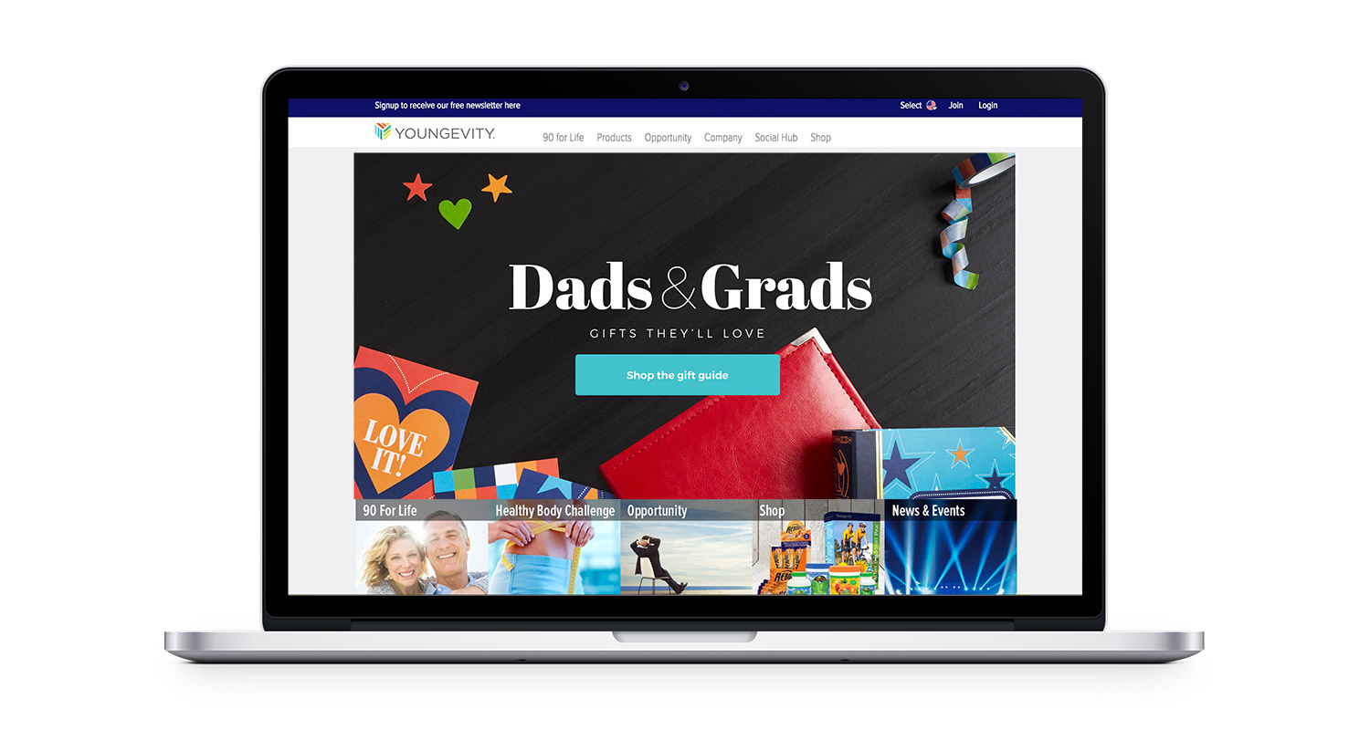 Dads & Grads home page banner