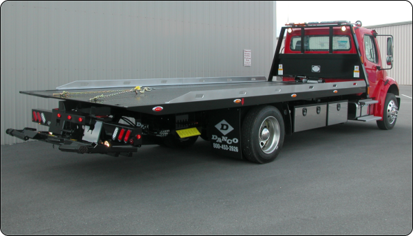 Roll Back Bodies   Action Fabrication and Truck Equipment