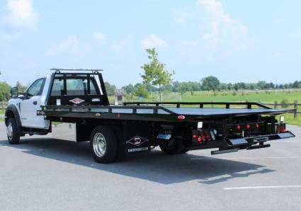 12_Series Steel Car Carrier Removable Rails