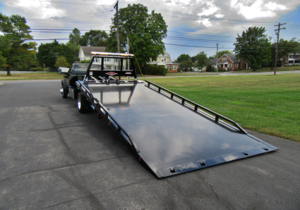 12_Series Steel Car Carrier Removable Rails