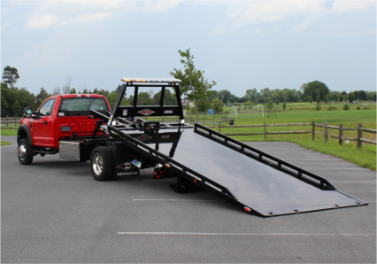 12_Series Steel Car Carrier Non-Removable Rails