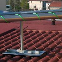 Putkikolakuljetin varustettuna lämpökaapelilla ja eristyksellä ulkokäyttöön