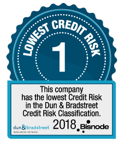 Bisnode – Lowest Credit Risk 2017