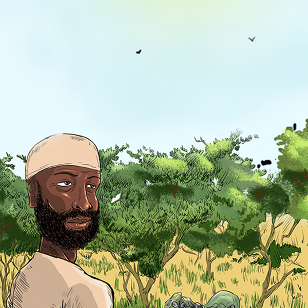 Sudan Graphic novel