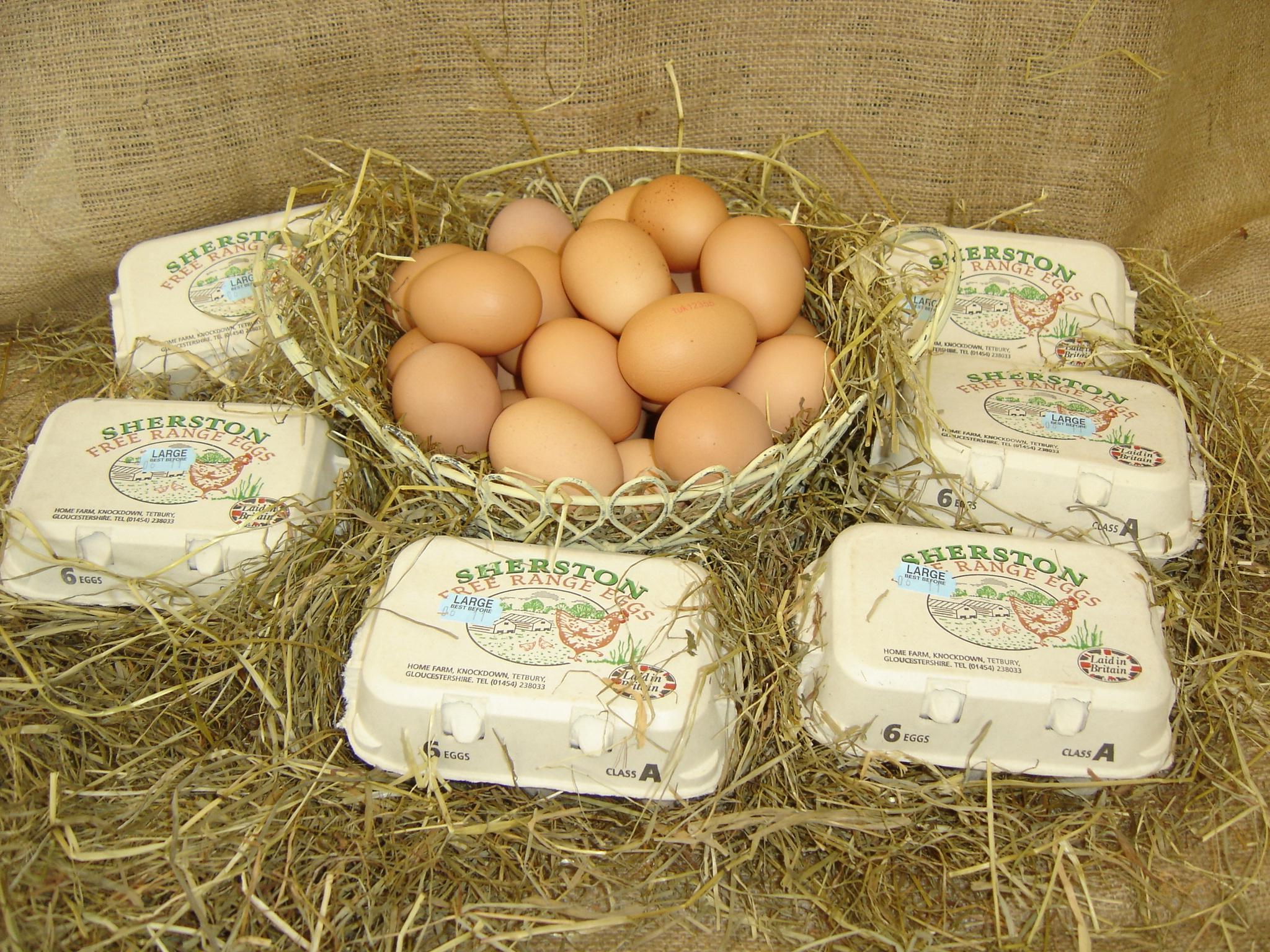 Sherston Free Range Eggs